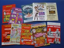 Nottingham Theatre Royal  - 10 Different  1980s  'Flyers' for Panto's etc