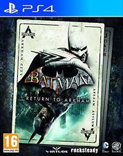Batman Return to Arkham (PS4) [New Game]