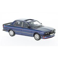 BMW M535i DARK 1978 BLUE/WHITE 1:43 Neo Scale Models Auto Stradali Die Cast