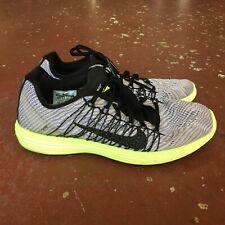 Nike Lunaracer +3 Mens Running Shoes Sport Shoes Racing Flats Sz 9.5 Grey Neon
