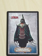 the legend of zelda twilight princess trading card number 24. Usurper King Zant