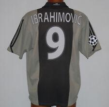 Ajax Ibrahimovic shirt maglia 2001 2002 Umbro UCL Champions league no match worn
