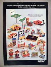 Playskool Toy PRINT AD - 1972 ~ toys