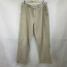 The North Face A5 Series Corduroy Pants Men's Size 34 x 30 Tan Flat Front