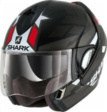Shark Klapphelm Evoline Serie3 Strelka Mat schwarz rot weiß grau Gr.XS NEU