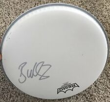 Brad Wilk Signed Remo Drumhead Rage Against Machine
