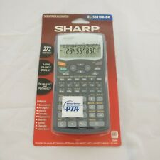 Sharp Advanced Dal Scientific Calculator El-531W El-531Wb-Bk Algebra