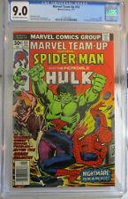 Marvel Team-Up # 53 CGC 9.0 1977 MARVEL Hulk 1st Byrne X-men Wolverine OWW Pages