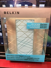 Apple Ipod nano case Cover Blue Belkin New Silicone Sleeve Grip Tight Groove