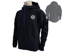 adidas Chelsea London Kapuzen Jacke schwarz CFC Anthem Fan Hoody Blues Gr.L