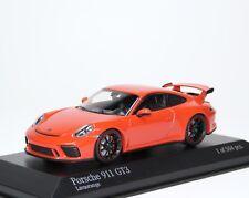Porsche 911 gt3 RS 991 2016 lavaorange Orange Minichamps 410066024 1:43 le 504