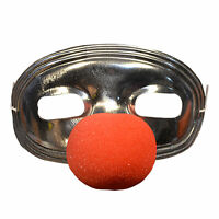 Adult Jamie Loyd Clown Michael Myers Halloween 4 Costume Eye Mask + Nose Unisex