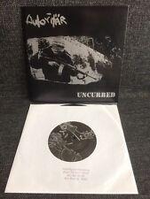 "Autoritär / Uncurbed – Split 7"" BLACK VINYL Rescued From Life Records Hardcore"