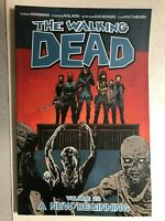 THE WALKING DEAD volume #22 A New Beginning (2014) Image Comics TPB FINE 1st