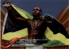 2018 Topps Chrome UFC Orange #13 Aljamain Sterling /25 - NM-MT