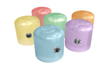 Xentric Guitars - SPRING PEARL Series 6mm Resin Dome Knobs