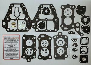 1983-89 CARB KIT MITSUBISHI 1.5-2.6L 4 CYLINDER ENGINES  MIKUNI SOLEX 2 BARREL