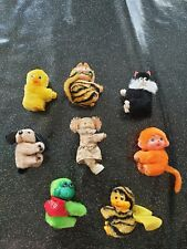 Vintage Hugger Clip On Animals Toys