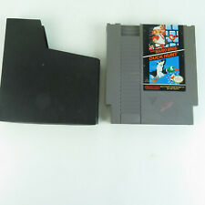 Super Mario Brothers / Duck Hunt NES Video Game w/ Dust Cover VTG