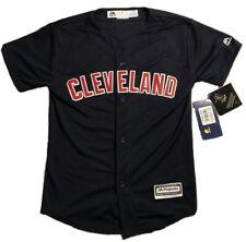 Cleveland Indians -Francisco Lindor Jersey - Youth Medium - Navy - Majestic- NWT