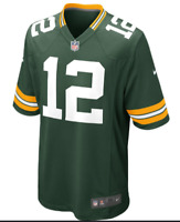 NEW Nike NFL On Field Youth Green Bay Packers Aaron Rodgers Jersey Boys SMALL