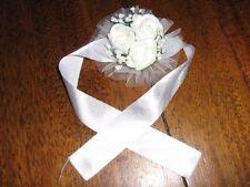 Ornamento da Sposa Povero Gioielli Bracciale Matrimonio ~ Fatto mano ~ bianco