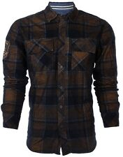 Affliction Men Embroidered L/S Button Down Shirt COPPER MOUNTAIN Jeans S-2XL $88