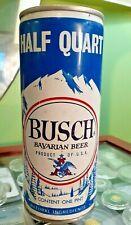 Vintage Busch Pull Tab 16Oz Half Quart West Virginia