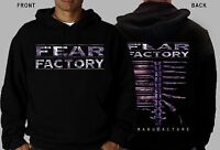 FEAR FACTORY-Demanufacture-industrial metal band, Hoodie-sizes:S to XXL