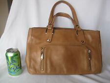 NEW Genuine HENRI BENDEL Leather Handbag, Beautiful Lavender Interior!