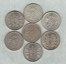 More details for seven florins dated 1939 to 1967 in near extremely fine or better condition