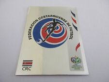 Sticker PANINI Fifa World Cup GERMANY 2006 N°37 Logo Écusson Costa Rica