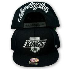 Original 47 Brand Los Angeles Kings Snapback Cap NHL Schwarz