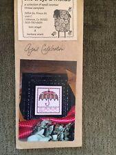 Ewe & Eye & Friends Cross Stitch Pattern - April Celebration with Tiny Buttons