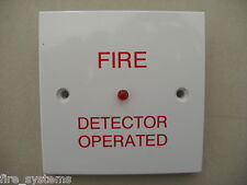 £3.96 Remote Indicator for Fire Alarm Smoke Detector