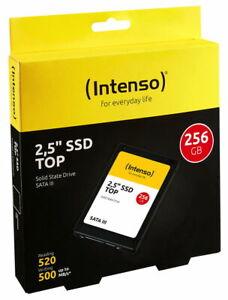 Intenso SSD interne Festplatte Top High-Speed 3D Nand 2,5 Zoll 256GB SATA III