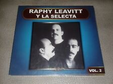 CD ORIGINAL SALSA. RAPHY LEAVITT Y SU ORQUESTA LA SELECTA VOL2 ALMA LATINA 2012