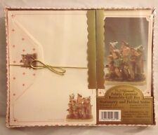 MJ Hummel The Seven Swabains 347 Stationery Gift Set with Fabric Box 1993 Sealed