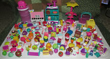 Huge Lot 127 moose shopkin toys cupcakes vegtables mixers fruits accessories toy