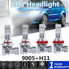 6500K LED Headlight Bulb for Toyota Camry High Beam 9005+Low Beam H11 2007-2017