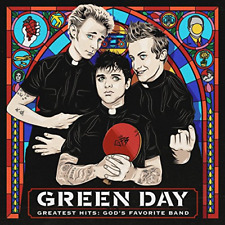 GREEN DAY-GREATEST HITS: GOD'S FAVORITE BAND-JAPAN CD F04