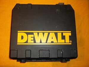 DEWALT DC989KA CORDLESS DRILL STORAGE CARRING BOX CASE ONLY