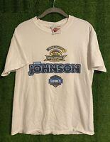 Vintage Jimmie Johnson 2006 Champion Nextel Cup Series NASCAR Mens T-Shirt