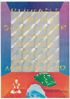 Traffic, Steve Winwood,  Quicksilver Original Shrine 1968 Blank Back Handbill