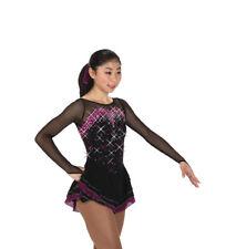 New Jerry's 252 Crystal Cavalcade Dress, Black/Sangria, Adult Medium