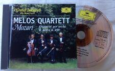 MELOS QUARTETT / MOZART - CD (I grandi interpreti nr. 64 - De Agostini)