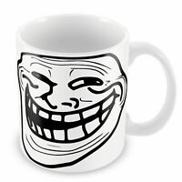 Mug Troll Face Ugly Fun Meme