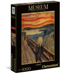 Clementoni 39377 Munch: Der Schrei 1000 Teile Puzzle Museum Collection