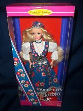 1995 Norwegian Barbie Dolls Of The World #14450 Collector Edition.