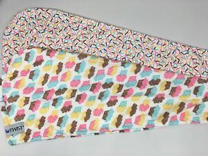 Turbie Twist  Microfiber Hair Towel-Cupcake/Sprinkles 2 pack